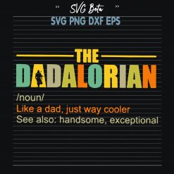 The dadalorian Star wars