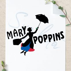 Marry poppins svg