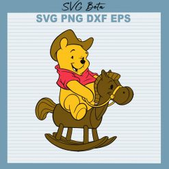 Pooh ride horse