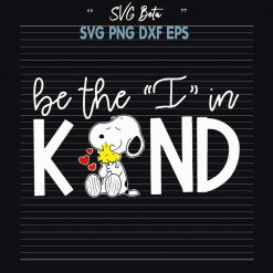Be the i in kind snoopy