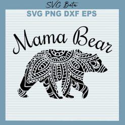 Mama bear mandala