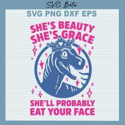 She beauty t rex
