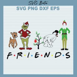 Grinch friends christmas