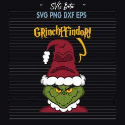 Gryffindor Santa Grinch Christmas