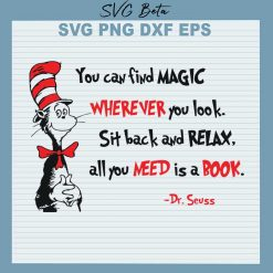Dr Seuss all you need is a book