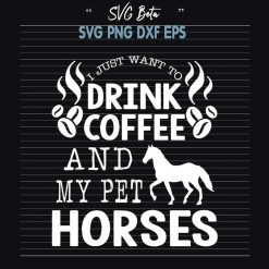 Horse drink coffee