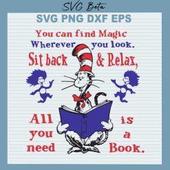 Dr Seuss relax book