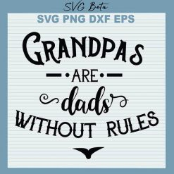 Grandpas are das without rules