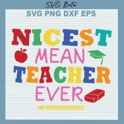 Nicest mean teacher ever