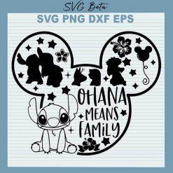 Stitch ohana family