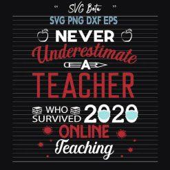 Teacher who survived 2020