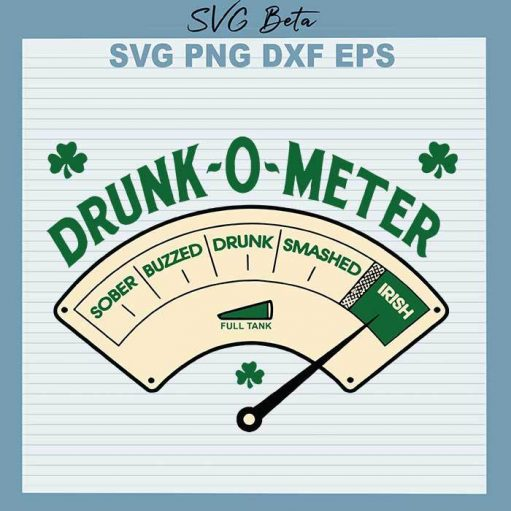Drunk o meter Irish