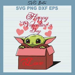 Baby Yoda Valentine Day