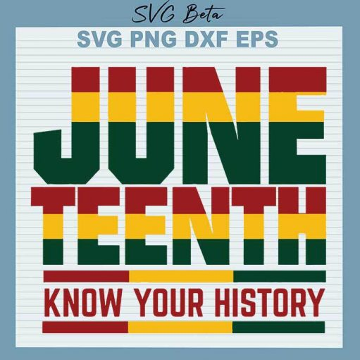 June teenth know your history