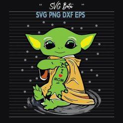 Baby Yoda I love Mom