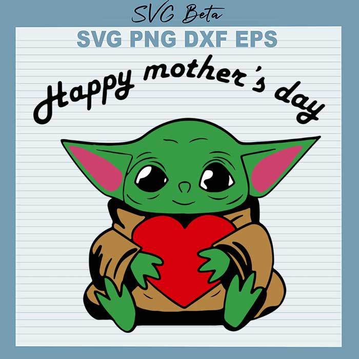 Baby Yoda Mothers Day