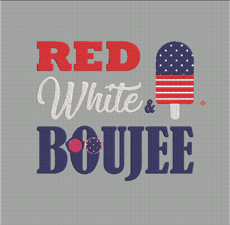 Red white and boozy Embroidered File