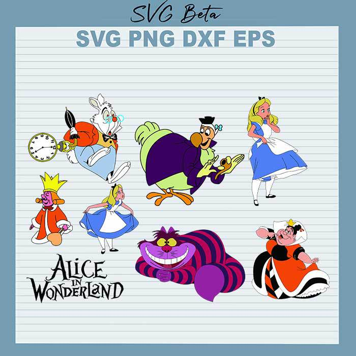 Alice In The Wonderland Character