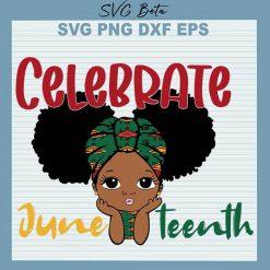 Baby Girl Celebrate Juneteenth
