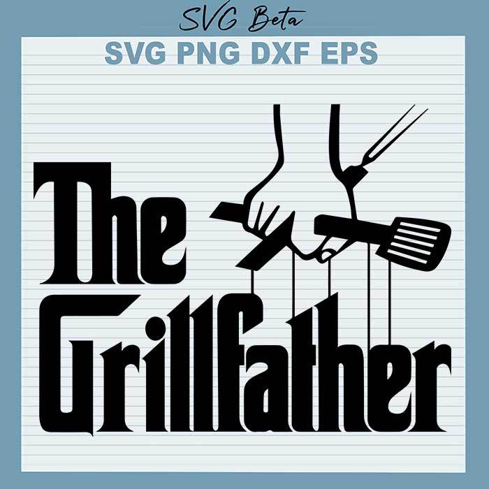The Grillfather svg