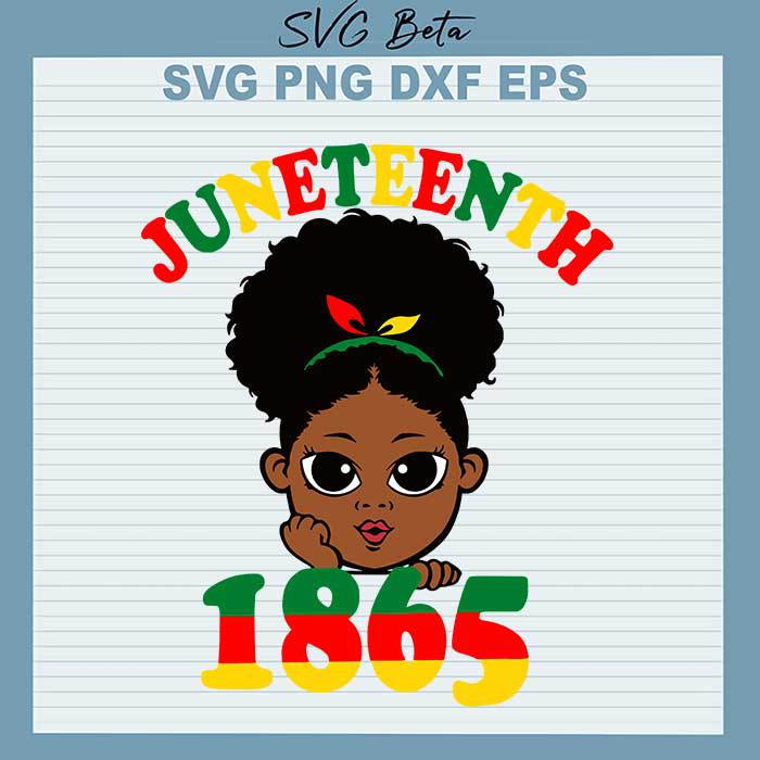 Baby Afro Juneteenth 1865