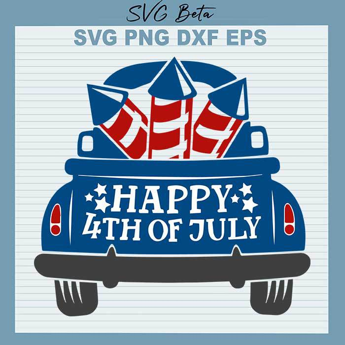 Happy 4th of July Truck