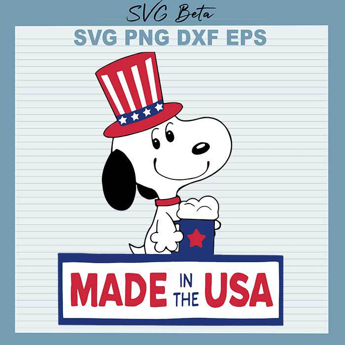 Snoopy Made In The USA