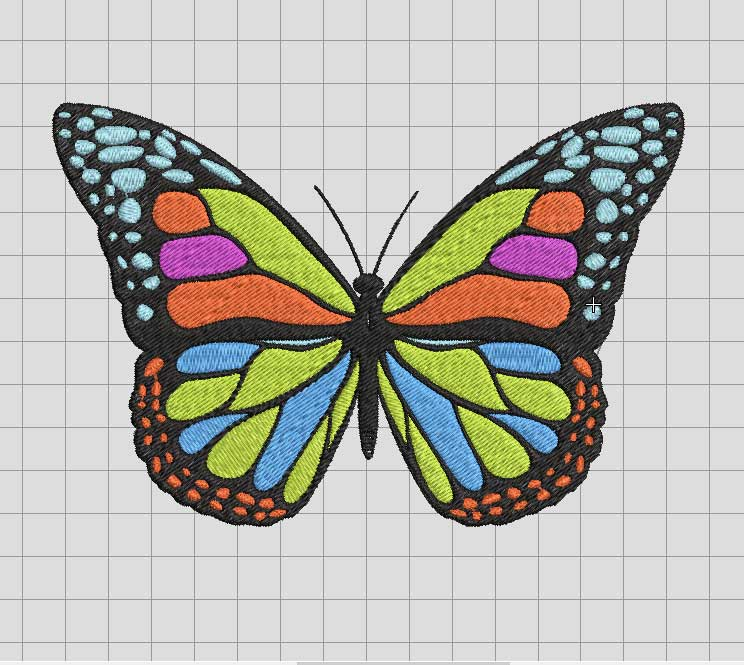 Butterflies Embroidery File