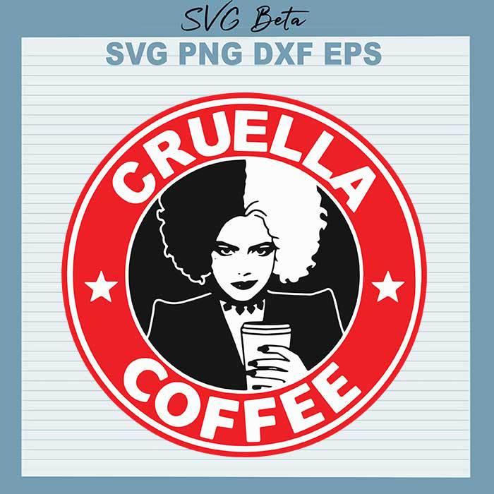 Cruella Starbuck Coffee Logo