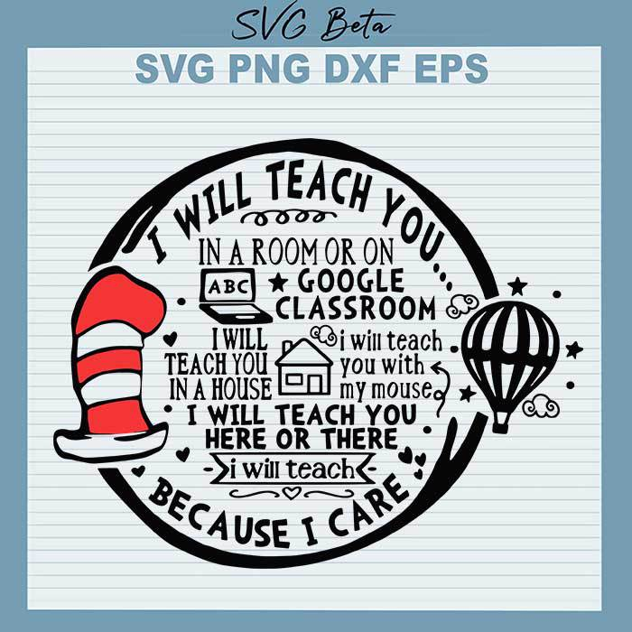 Dr Seuss I Will Teach You In A Room