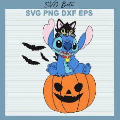 Halloween Pumpkin Stitch SVG