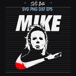 Michael Myers Nike Logo SVG