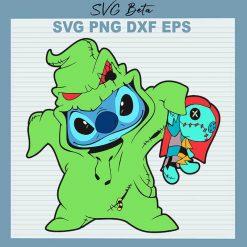 Oogie Boogie Stitch SVG