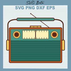 Vintage Radio SVG