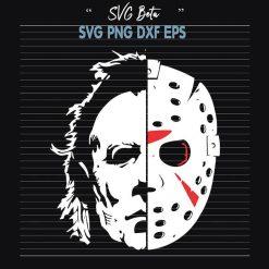 Jason Michael Myers Mask SVG